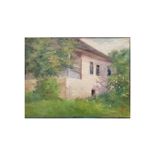 Peisaj cu casa, Anonim