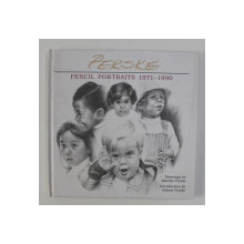 PENCIL PORTRAITS 1971 - 1990 , drawings by MARTHA PERSKE , introduction by ROBERT PERSKE ,  1998