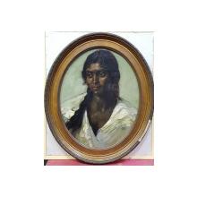 Petre Bulgaras (1884-1939 ) - Portret de tiganca