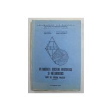 PETROLOGIA ROCILOR MAGMATICE SI METAMORFICE , CAIET DE LUCRARI PRACTICE , PARTEA A I - A de ION MARES ... MARIN SECLAMAN , 1983