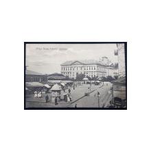 Piata Nove. Palatul Justitiei - CP Ilustrata