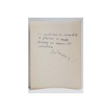 PICTORUL  AVANGARDIST  VASILE DOBRIAN ( 1912 - 1999 ) FELICITARE SEMNATA OLOGRAF , NEDATATA