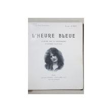 PIERRE GUEDY, L'HEURE BLEUE - PARIS