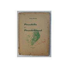 PIRANDELLO SI PIRANDELLISMUL de ARISTIA BENCHE , 1937