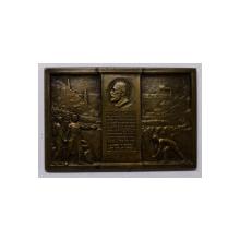 PLACHETA OMAGIU DE ADMIRATIUNE SI RECUNOSTINTA MAURICIU BLANK , 1923