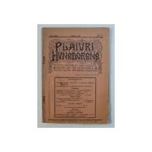 PLAIURI HUNEDORENE - REVISTA ASOCIATIEI CORPULUI DIDACTIC PRIMAR DIN JUD . HUNEDOARA , ORGAN DE CULTURA PROFESIONALA SI GENERALA , ANUL XIII , No. 3 ,MARTIE , 1941
