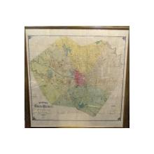 Planul Orasului Bucuresti alcatuit in al XXXIII-lea an al Domniei Majestatii Sale Carol I, 1899