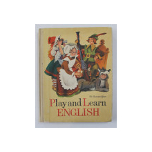 PLAY AND LEARN ENGLISH by SH. HAMAMDJIAN , 1982