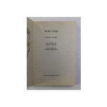 POEME ALESE de RENE CHAR , 1969
