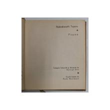 POEME de RABINDRANATH TAGORE , 1967