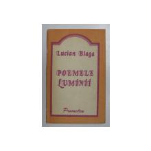 POEMELE LUMINII de LUCIAN BLAGA , 1991