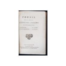 Poesie dell' abate Giuseppe Parini: contenenti, Il mattino ; Il mezzogiorno ; Il vespro ; La notte - Venetia, 1807