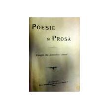"""Poesie si proza Culegeri din """"Convorbiri literare"""""""