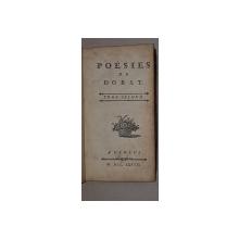 POESIES DE DORAT, TOME II - GENEVE, 1777