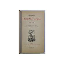 POESIES , TOMES II , OEUVRES DE THEOPHILE GAUTIER , 1890