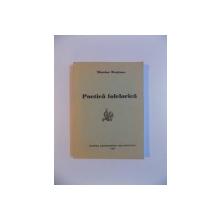 POETICA FOLCLORICA de NICOLAE ROSIANU, 1997 , DEDICATIE