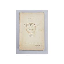 POEZII de ST. O. IOSIF 1893 - 1908 , APARUTA 1908 , COPERTA PRINCIPALA CU PETE *