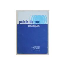 POINTS DE VUE INITIATIQUES  - CAHIERS DE LA GRANDE LOGE DE FRANCE , NO. 96  ,  1 er TRIMESTRE , 1995