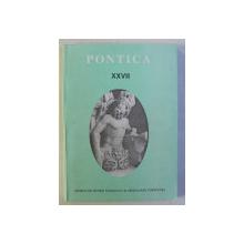 PONTICA  - REVISTA MUZEULUI DE ISTORIE NATIONALA SI ARHEOLOGIE CONSTANTA , NR. XXVII , 1994
