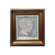 PORTRET DE COPIL - BOB BULGARU ( 1907-1938 )