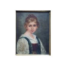 Portret de fetita - Sfarsit de Sec. 19
