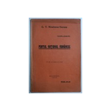 PORTUL NATIONAL ROMANESC de G . T. NICULESCU - VARONE , 1933