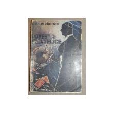 POVESTIRI FILATELICE de CRISTINA PANCESCU , 1946 ,contine dedicatia autorului