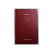 PRACTICA SI APROPOURILE LUI CILIBI MOISE - VESTITUL IN TARA ROMANEASCA de M . SCHWARZFELD , 1901