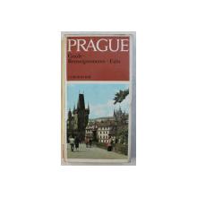 PRAGUE  - GUIDE - RENSEIGNEMETS - FAITS par CTIBOR RYBAR , 1981