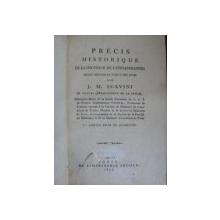 PRECIS HISTORIQUE DE LA DOCTRINE DE L'INFLAMMATION   - 1811