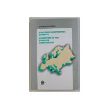 PREISTORIA CONSTRUCTIEI EUROPENE de LADISLAU GYEMANT , EDITIE IN ROMANA SI ENGLEZA , 1999