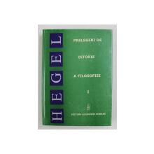 PRELEGERI DE ISTORIE A FILOSOFIEI de GEORG WILHELM FRIEDRICH HEGEL , 2005