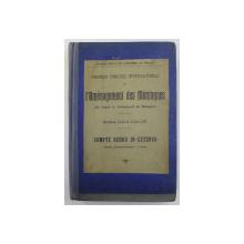 PREMIER CONGRES INTERNATIONAL DE L 'AMENAGEMENT DES MONTAGNES , BORDEAUX , 1907