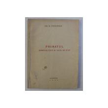 PRIMATUL SPIRITUALITATII IN VIATA DE STAT de GH. D. RANZESCU , 1945