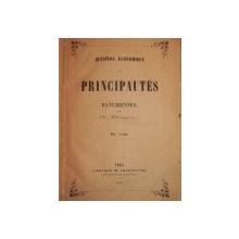 PRINCIPAUTES DANUBINNES - N. BALCESCU - PARIS  1850