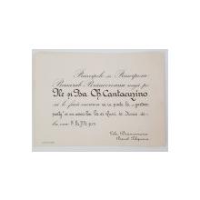 Principele Basarab Brancoveanu, Invitatie