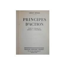 PRINCIPES D' ACTION - ADOLF HITLER