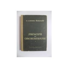PRINCIPII DE ORCHESTRATIE de N.A. RIMSKI - KORSAKOV , 1959