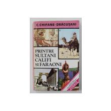 PRINTRE SULTANI , CALIFI SI FARAONI de C. CHIFANE - DRAGUSANI , 1994 , BLOCUL DE FILE PREZINTA PETE LA PARTEA SUPERIOARA , DEDICATIE*