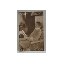 PRINTUL JOHANN GEORG VON SACHSEN , CARTE POSTALA ILUSTRATA , MONOCROMA, , NECIRCULATA , DATATA 1912
