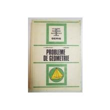 PROBLEME DE GEOMETRIE de I.C. DRAGHICESCU , V. MASGRAS , 1987