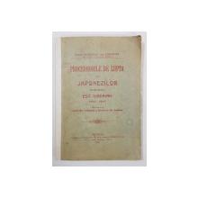 PROCEDURILE DE LUPTA ALE JAPONEZILOR IN RESBOIUL EST - SIBERIAN de MAIOR FREIHERR VON LUTTWITZ - BUCUREST, 1906