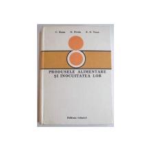 PRODUSELE ALIMENTARE SI INLOCUIREA LOR de C. BANU...S.S. VASU , 1982