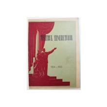 PROGRAM TEATRUL TINERETULUI : LIBELULA  -  COMEDIE IN 4 ACTE ( 5 TABLOURI ) de MARIKE BARATASVILI , 1954 - 1955