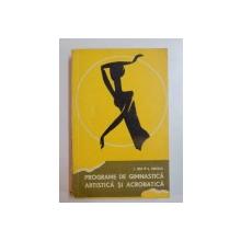 PROGRAME DE GIMNASTICA ARTISTICA SI ACROBATICA de I. JIPA , S. MAGDA , 1967