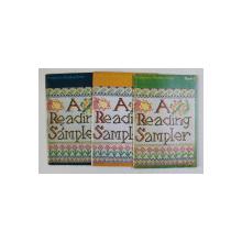 PROGRESSIVE READING SERIES - A READING SAMPLER , VOLUMELE I - III , 1973 - 1974