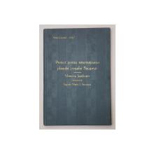 PROIECT PENTRU SISTEMATIZAREA PLANULUI ORASULUI BUCURESTI  - MEMORIU JUSTIFICATIV INTOCMIT de ING. MARIN I. STROESCU , 1906