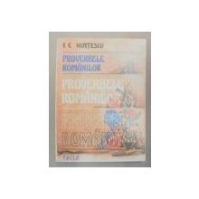 PROVERBELE ROMANILOR-I.C. HINTESCU  TIMISOARA 1985