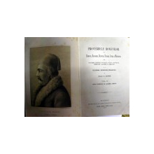 PROVERBELE ROMANILOR DIN ROMANIA,BASARABIA,BUCOVINA,UNGARIA,ISTRIA SI MACEDONIA de IULIU A. ZANNE ,VOL. II ,BUCURESTI 1897