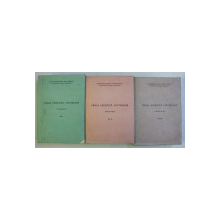 PROZA ESEISTICA VICTORIANA - ANTOLOGIE , VOLUMELE I  - III , selectia textelor ANA CARTIANU , 1969
